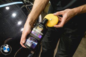 waxlaag als bescherming Ultimate Liquid Wax